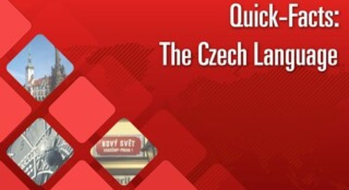 Quick Facts: The Czech Language