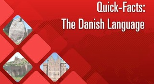 Quick Facts: The Danish Language