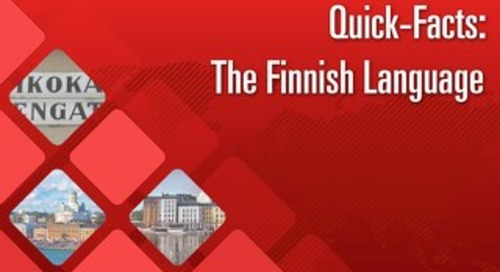 Quick Facts: The Finnish Language