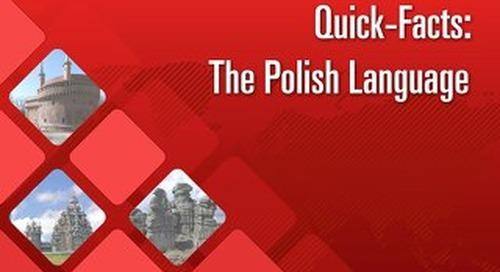 Quick Facts: The Polish Language