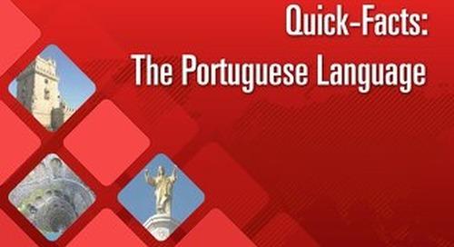 Quick Facts: The Portuguese Language