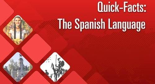 Quick Facts: The Spanish Language