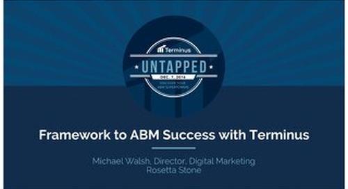 Rosetta Stone's Framework to ABM Success with Terminus