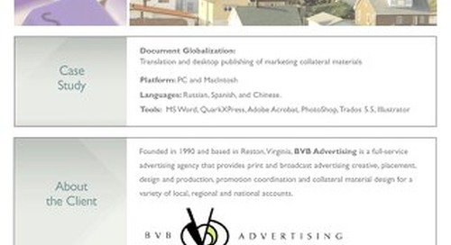 BVB Advertising: Document Localization Case Study