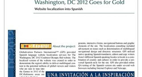 Washington D.C. Coalition: Website Localization