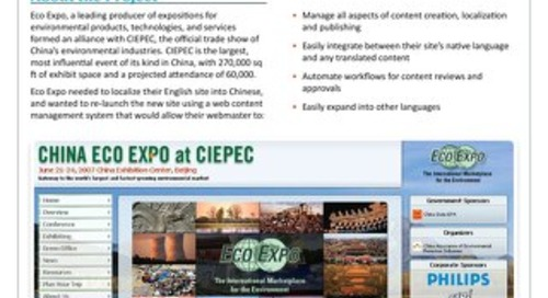 Eco Expo: Website Localization Case Study