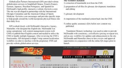 McDonald's: Website Localization Case Study