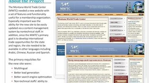 Montana World Trade Center: Website Localization Case Study