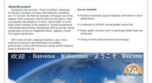 Seismicom: Website Localization Case Study