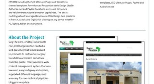 Surg+Restore: Website Localization and Global SEO Case Study