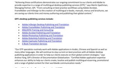 Adobe Certified Expert Certification