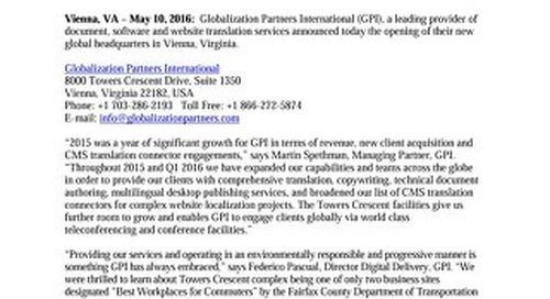 GPI Announces New Global Headquarters
