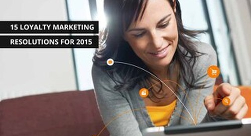 15 Loyalty Marketing Resolutions For 2015