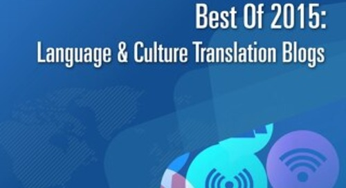 Best of 2015 Blogs - Language & Culture