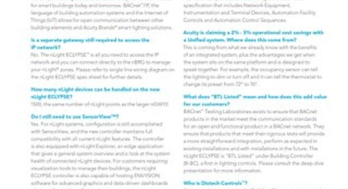 nLight ECLYPSE FAQs