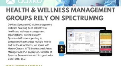 Health & Wellness Management Groups Testimonial