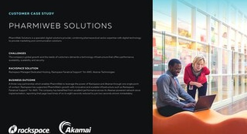 Pharmiweb Growth Fueled By Rackspace Support For AWS