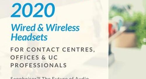 Sennheiser Headsets 2017 [Flipbook]