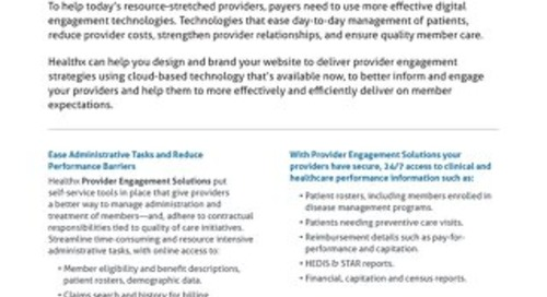 [data sheet] Provider-Portal