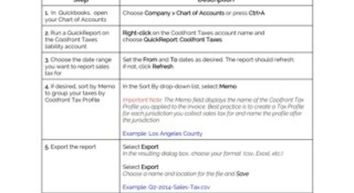 How to Create Tax Reports in QuickBooks