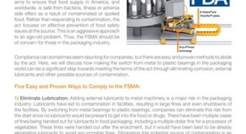 Complying With The Food Safety Modernization Act