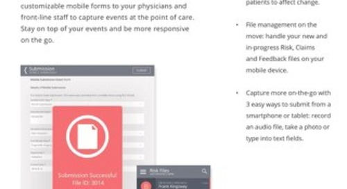 Improve patient safety from your mobile device