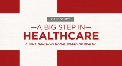 Case Study: Danish National Board of Health