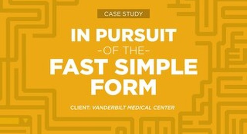 Case Study: Vanderbilt Medical Center