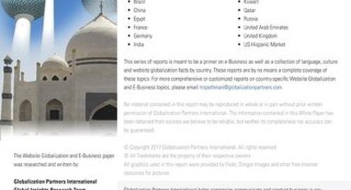 Website Globalization and E-Business Kuwait