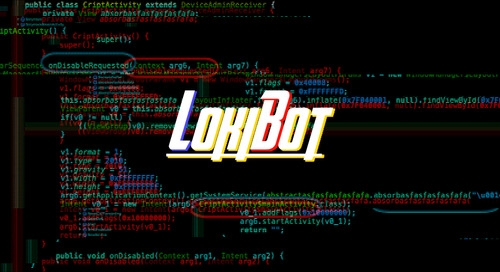 LokiBot Android Banking Trojan Turns Into Ransomware When You Try to Remove It