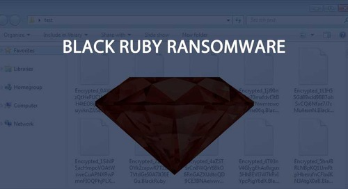 Black Ruby Ransomware Skips Victims in Iran and Adds a Miner for Good Measure