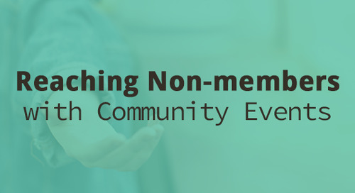 Reaching Non-members with Community Events