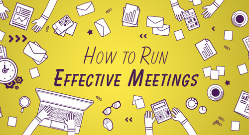 How to Run Effective Meetings