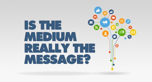 Is the Medium Really the Message?