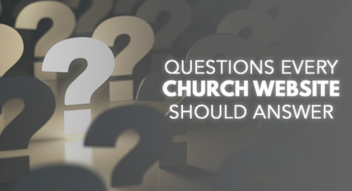 Questions Every Church Website Should Answer