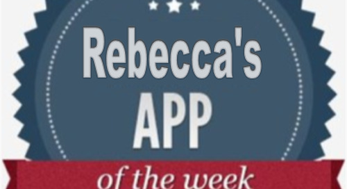 Rebecca's App of the Week:  Hopper