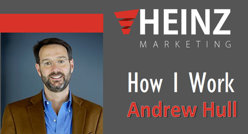 """How I Work"":  Andrew Hull, President & Founder at Elixiter @andrewhull #HowIWork"