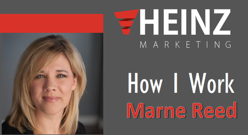 """How I Work"":  Marne Reed, Chief Evangelist, VP Strategic Alliances, Human Resources and Accounting at PFL.com @MarneDReed"