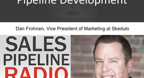 Sales Pipeline Radio, Episode 96: Q&A with Dan Frohnen