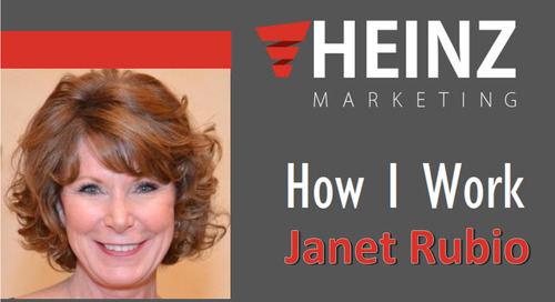 """How I Work"":  Janet Rubio, CMO at True Influence @trueinfluence #HowIWork"
