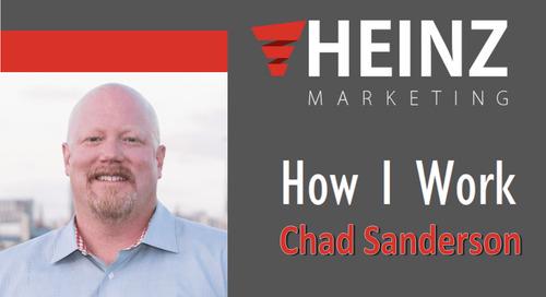 """""""How I Work"""":  Chad Sanderson, Managing Partner, Value Prime Solutions @sandersonc #HowIWork"""