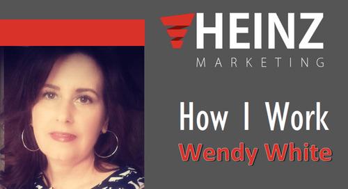 """How I Work"":  Wendy White, VP of Marketing at Egencia @wendywhite #HowIWork"