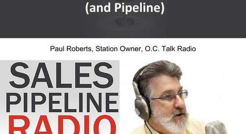 Sales Pipeline Radio, Episode 103: Q&A with Paul Roberts