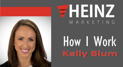 """How I Work"":  Kelly Blum, Senior PR Manager for CEB (now Gartner) @Kelly_CEBNews #HowIWork"