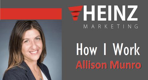 """How I Work"":  Allison Munro, Head of Sales & Marketing at Viafoura @yomunro #HowIWork"