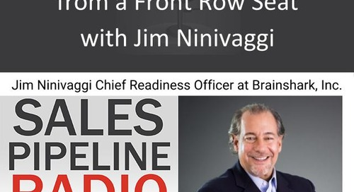 Sales Pipeline Radio, Episode 111: Q&A with Jim Ninivaggi @JNinivaggi