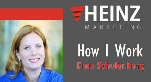 """How I Work"":  Dara Schulenberg, Manager, Global Channel Marketing Programs at Riverbed @dschulenberg #HowIWork"