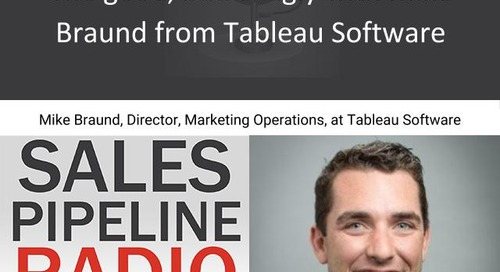 Sales Pipeline Radio, Episode 113: Q&A with Mike Braund