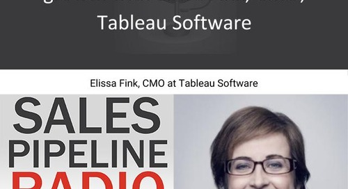 Sales Pipeline Radio, Episode 114: Q&A with Elissa Fink @elissfink