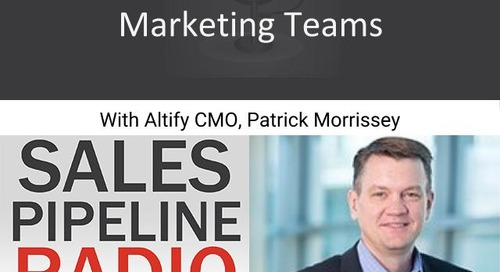 Sales Pipeline Radio, Episode 118: Q&A with Patrick Morrissey @PatMorrissey